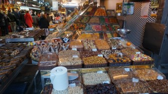 More nuts and candied fruits