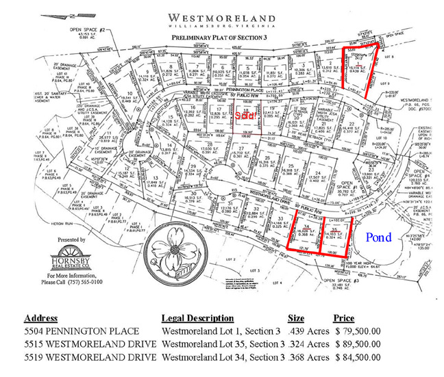 Westmoreland, Williamsburg, Virginia
