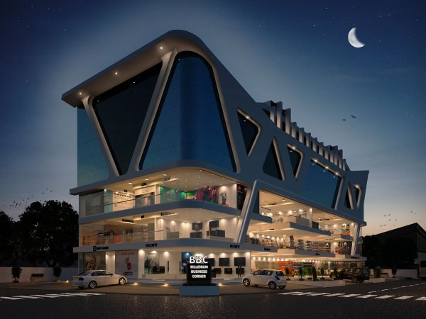 Realism - Architectural 3d Exterior Rendering Views
