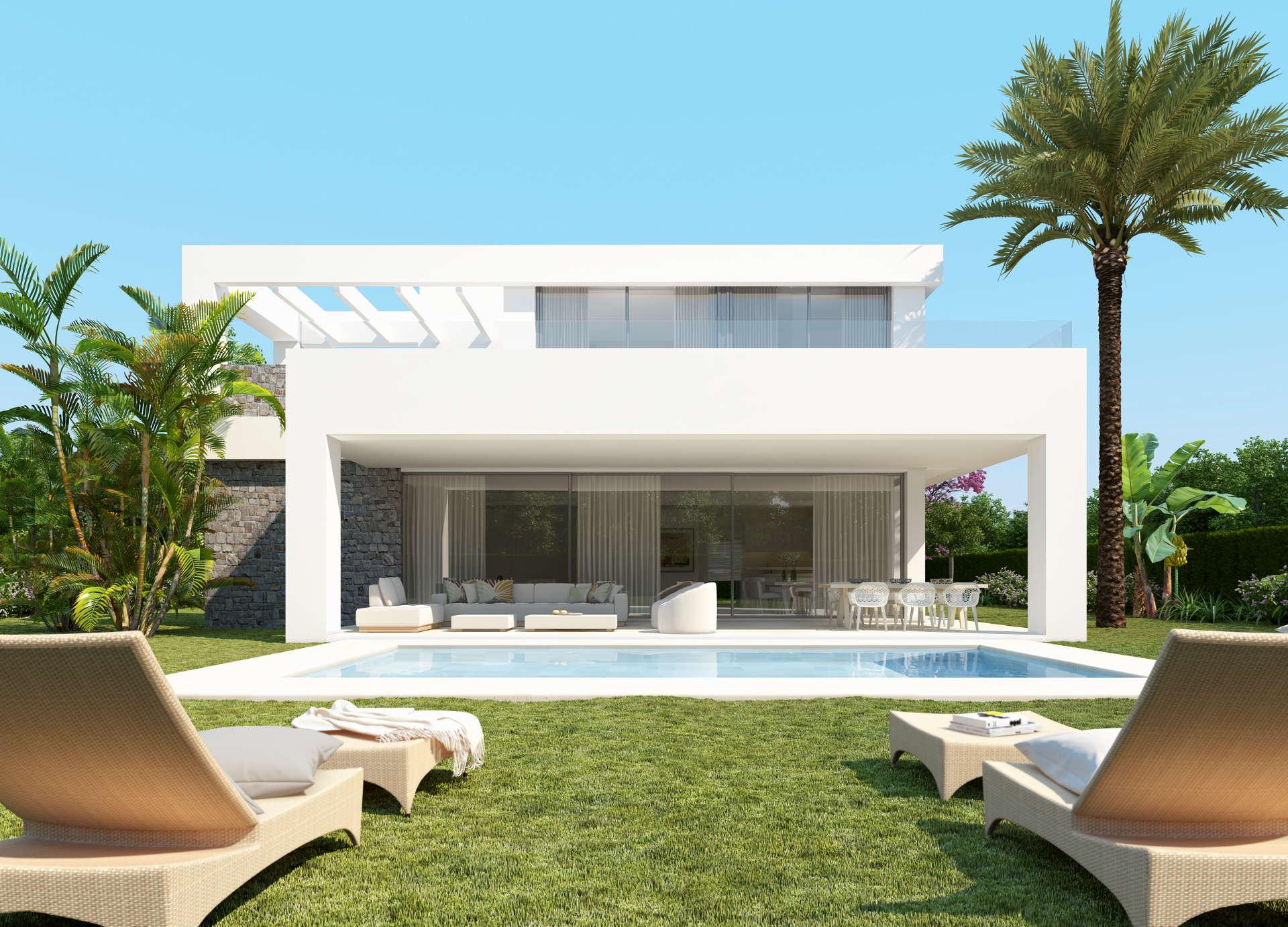 Modern contemporary 4 bedroom villa in La Finca de