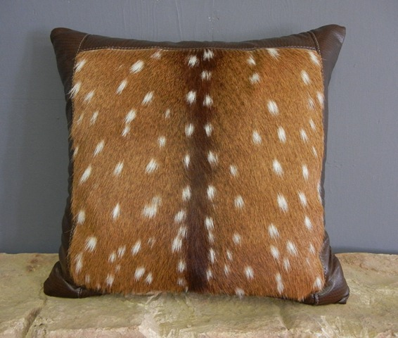 Axis Pillow Realistic Taxidermy
