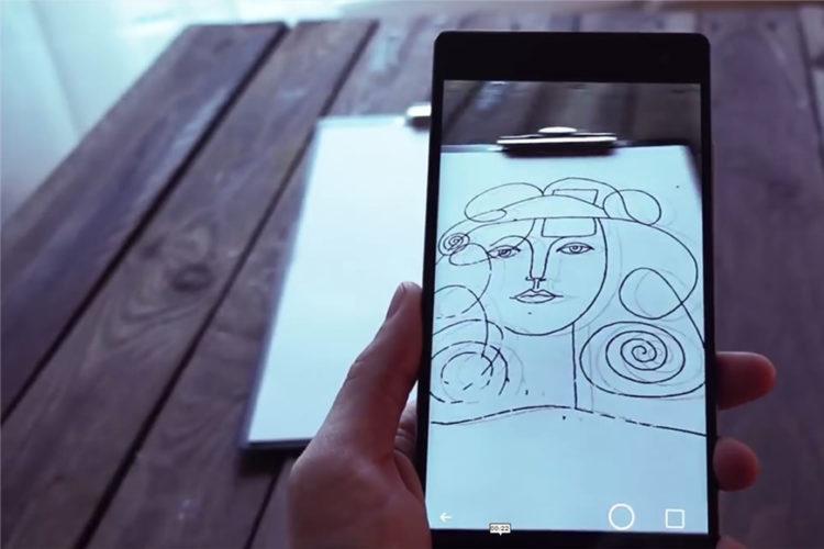 SketchAR apprendre dessin réalité augmentée application AR dessiner facilement smartphone Hololens
