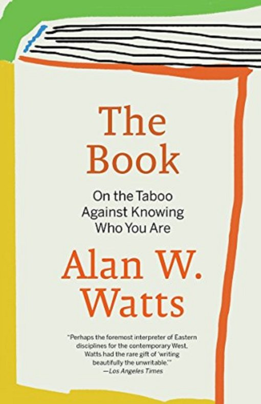 Alan Watts Book, On Taboo Against Knowing Who You Are