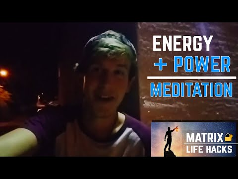 MATRIX LIFE HACK #3 - Alignment with SELF & Instantly Increase Energy 🔥( POWER MEDITATION )