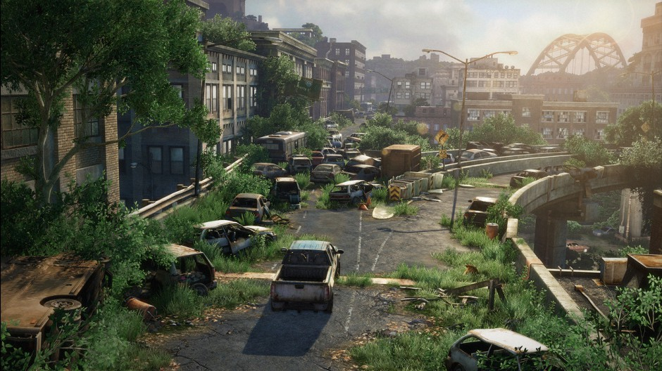 Real World Architecture And Locations In The Last Of Us Reality - Minecraft last of us map