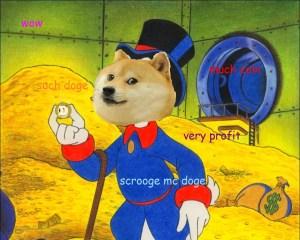 Scrooge Doge