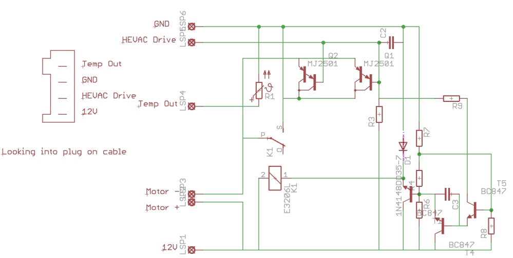 medium resolution of above is a circuit diagram of the module values and compnent names aren t correct as i just wanted a schematic i beleive this is correct