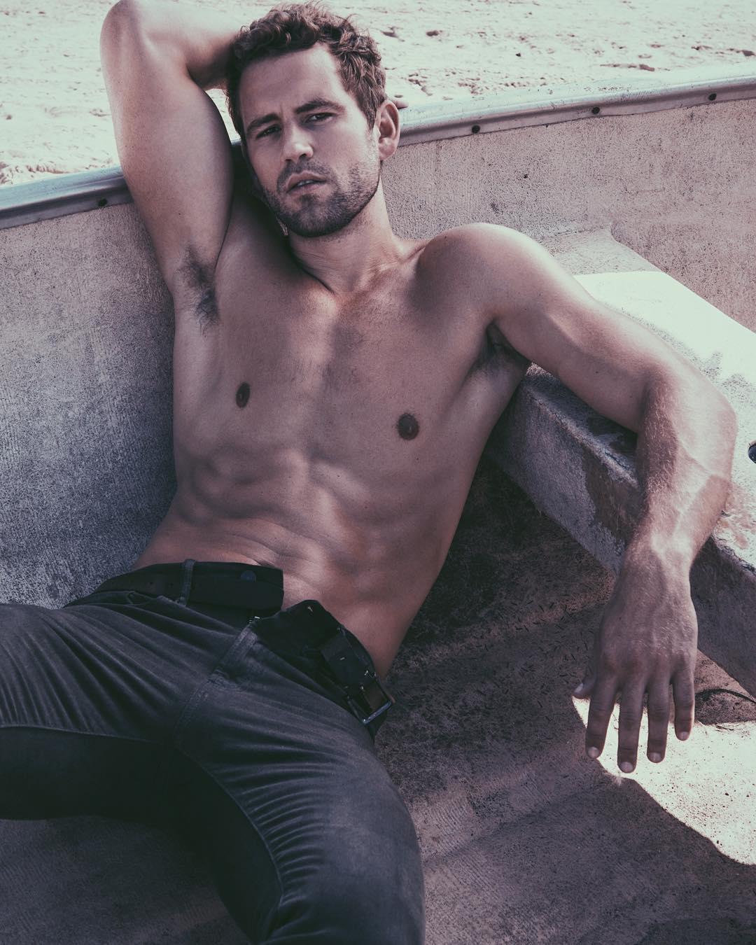 Nick Viall  See 20 of The Bachelor stars sexiest pics
