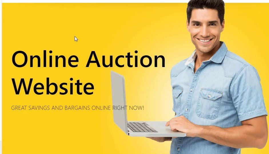 How to create an auction website