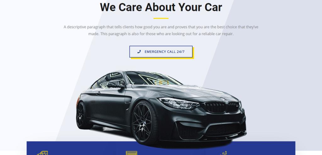 how to create a car website
