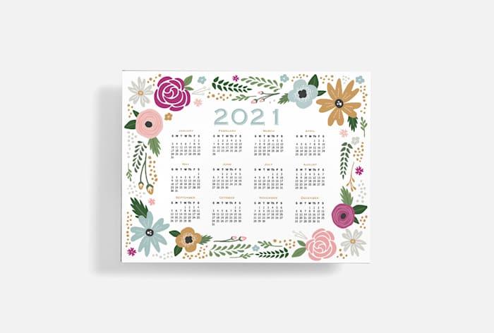 Custom-made calendar