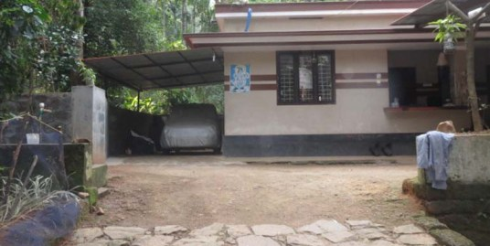 Land and House for sale at Calicut.