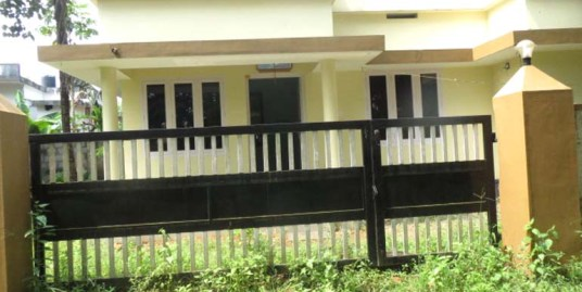 Land and house for sale at