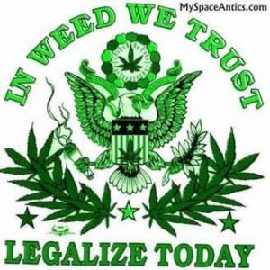 Majority want marijuana legalized