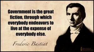 Bastiat - Govt Great Fiction