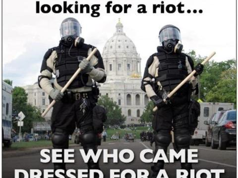 Dressed For a Riot