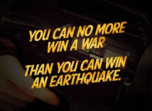 War and Earthquakes