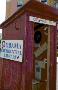 Obama Outhouse