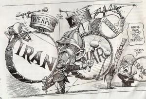 IRAN WAR CARTOON