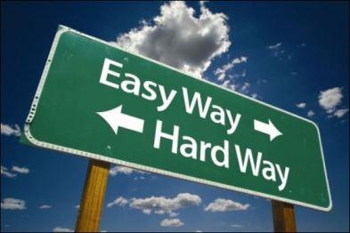 Easy Way Hard Way