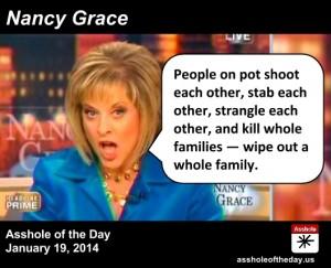 Nancy Grace - Asshole Of The Day
