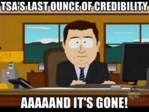 TSA Credibility