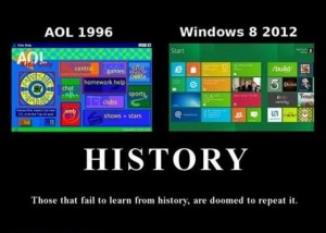 AOL vs Win8