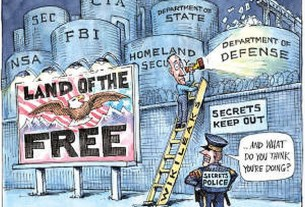 secrets in the land of the free