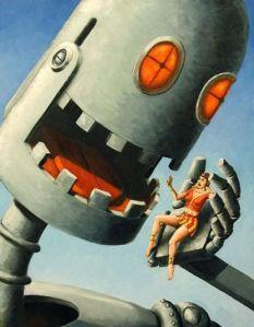 Robot Eating Human