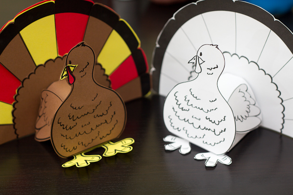 Turkey Cutout Step 8