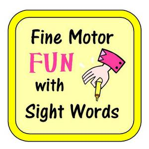 photo of Fine Motor Fun with Sight Words | The Homeschool Classroom