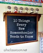 homeschooler tips