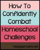 homeschool challenges