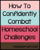 homeschool challenges