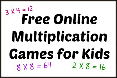 Free Online Multiplication Games for Kids | The Homeschool Classroom