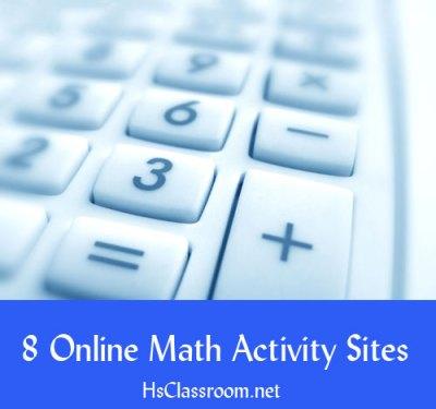 hsclassroom math activities