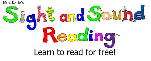 Fabulous and Free Reading Program: Mrs  Karle's Sight and Sound Reading