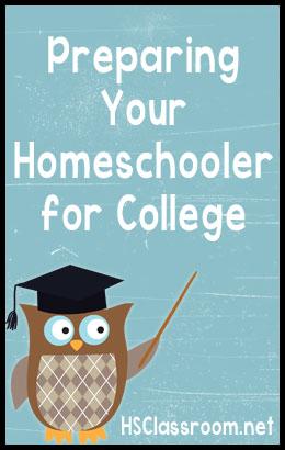 Preparing Your Homeschooler for College