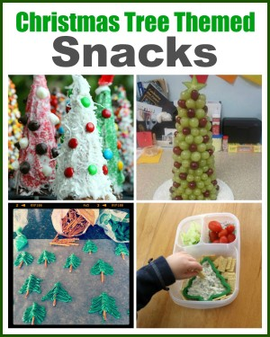 christmas tree snacks