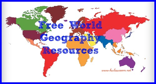 Free resources for teaching world geography free world geography resources gumiabroncs Gallery