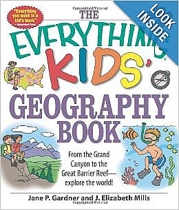 everything kids geography book