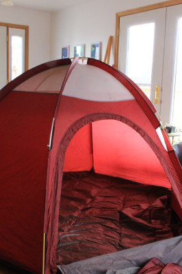 tent invitation to play