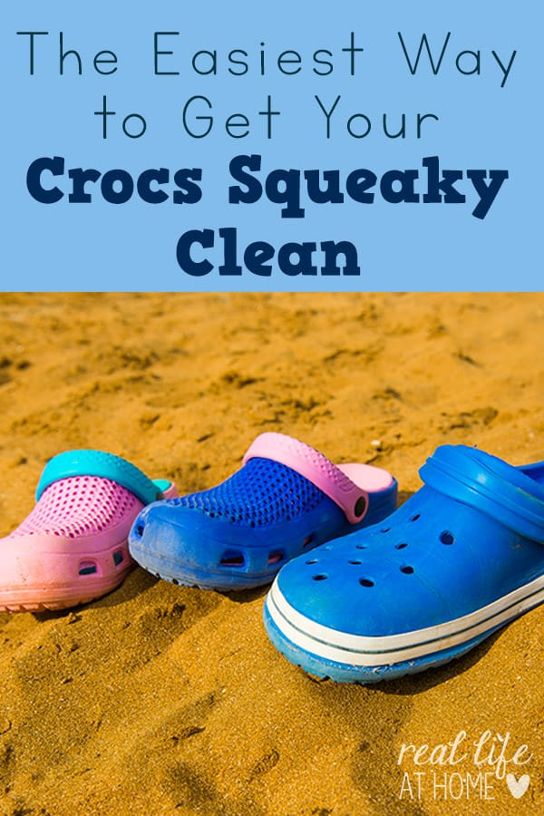 The Easiest Way to Get Your Crocs Squeaky Clean