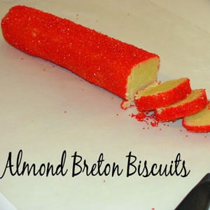 almond breton biscuits recipe