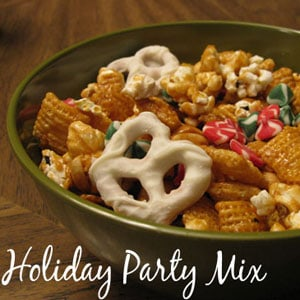 Sweet Holiday Snack Mix Recipe