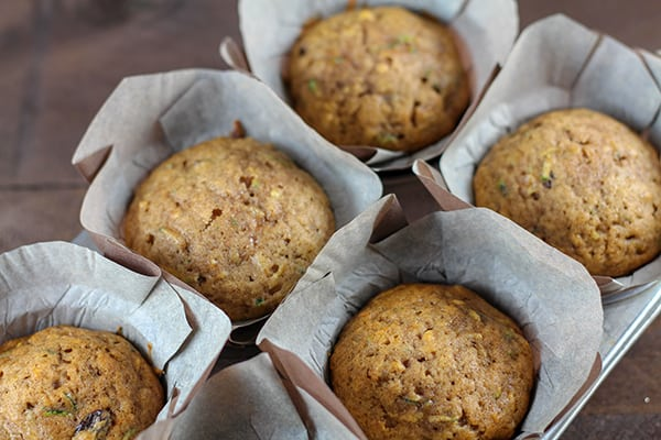 Recipe for Hearty and Delicious Zucchini Muffins with Raisins and Walnuts   Real Life at Home