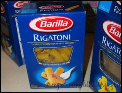 rigatoni pasta craft