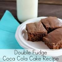 Rich and Delicious Double Fudge Coca Cola Cake Recipe