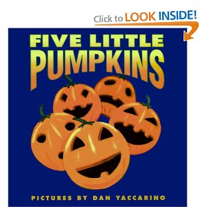 5 Little Pumpkins book