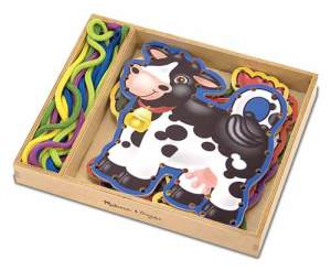 Lacing cards, Melissa and Doug